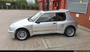 peugeot 205 rally peugeot 205 gti dimma performance u0026 trackday cars for sale at