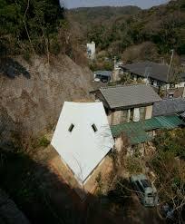 armadillo by yuji tanabe is built on diamond shaped plan