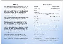 funeral programs order of service butterfly design funeral program template funeral programs
