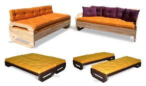 trasformare un letto in un divano divano letto moderno in cotone 2 posti ops cinius