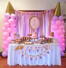 princess birthday party pink and gold princess birthday party princess birthday cake