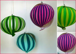 pretty diy paper ornaments pepper design