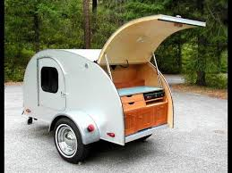 Teardrop Camper With Bathroom Teardrop Camping On The Open Road With Tiny Trailer Youtube