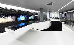 High Tech Office Furniture by Hi Macs Office Furniture Hi Macs Offices By Hi Macs