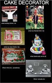 Meme Cake - cake decorator meme shake and bake