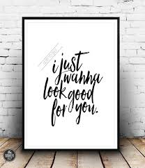 Wise Decor by Selena Gomez Lyrics Music Song Instant Download Wall Decor