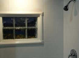 Bathroom Windows In Shower How To Trim A Shower Window For Style And Durability