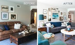 Mid Century Living Room Weekend Makeover Mid Century Eclectic Artist Emily Henderson