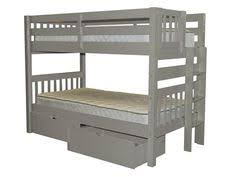 coaster 400034 work station loft bed products loft beds and beds