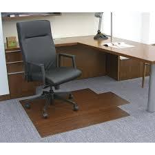 Computer Desk Floor Mats Rectangle Floortex Office Chair Mat Combined Light Brown Area Rug