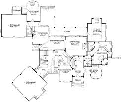 country floor plans modern country estate 5477lk architectural designs