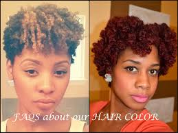 faqs about hair color on natural hair youtube