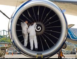 Turbine Engine Mechanic Boeing 777 236 British Airways Aviation Photo 1557193