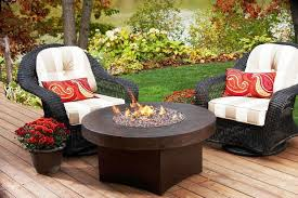 patio furniture fire pit tables riothorseroyale homes custom