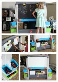 Step 2 Desk Easel Step2 Jumbo Art Easel Creative Storage For Kids Gluesticks