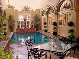 home plans with a courtyard and swimming pool in the center bienville house hotel new orleans la booking com