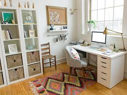 Desk Organized by 5 Quick Tips For Home Office Organization Hgtv