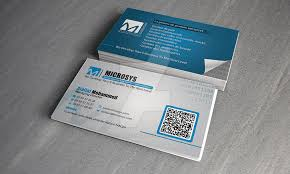 company cards microsys software company logo and business card by truedesigne on