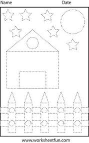 shape tracing letters u0026 more lots of preschool tracing