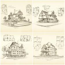 100 victorian home blueprints english cottage plans u0026