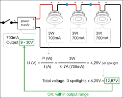 connecting current controlled led spotlights do u0027s and don u0027ts