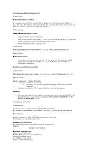 sample resume india it head resume 3