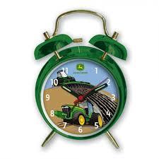 John Deere Bedroom Furniture by John Deere Twin Bell Alarm Clock Tractor Rungreen Com