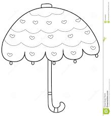 large umbrella coloring page umbrella coloring page stock illustration of ribsvigyapan com
