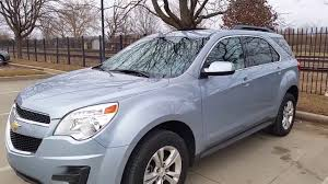 2014 Chevy Equinox Lt Light Blue Youtube