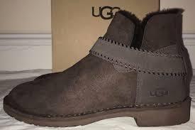 womens brown boots australia ugg australia womens mckay chocolate brown boots size 9 5