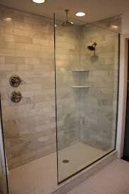 bathroom walk in shower ideas doorless walk in shower designs shower handle on separate wall