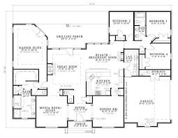 Two Bedroom Ranch House Plans 117 Best House Plans 2 500 3 000 Sq Ft Images On Pinterest