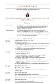 Market Research Resume Examples by Research Officer Resume Samples Visualcv Resume Samples Database