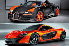 bugatti vs bugatti veyron vs mclaren f1 cars