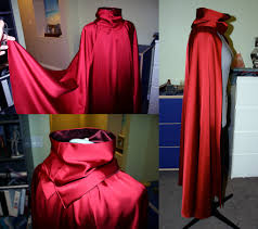 scarlet witch original costume scarlet witch progress cape and cowl finished by strikes twice