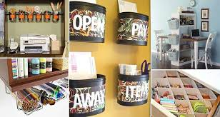 Office Organization Ideas 15 Awesome Diy Ways To Organize Your Office Part 1