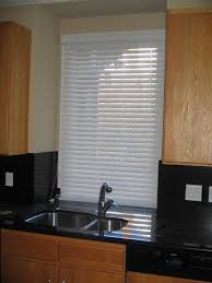 Mini Blinds Lowes Decorating Mini Blinds Lowes With Double Sink And Black