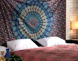 Bedroom Tapestry Wall Hangings Psychedelic Mandala Tapestry Hippie Wall Hanging Indian Beach