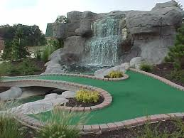 Backyard Driving Range Harris Miniature Golf Courses Inc Mini Golf Construction And Design