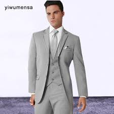 costume mariage homme gris yiwumensa custom made gris hommes de costumes terno slim fit