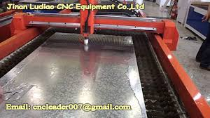 low price cnc plasma cutting machine with high punching holes