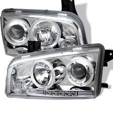 2008 dodge charger lights spyder auto dodge charger 06 10 projector headlights halogen