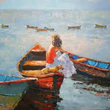 paint dream oil painting a girl can dream shop online on livemaster with
