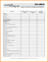 Create A Budget Spreadsheet by Simple Budget Worksheet Thebridgesummit Co