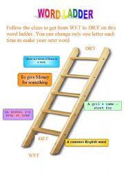 worksheet word ladder