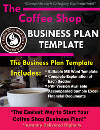 Microsoft Business Plan Templates How To Start A Coffee Shop Learn How To Open Your Coffee Business