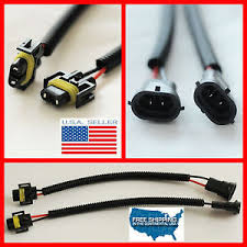 h11 h8 wiring harness socket wire connector plug extension cable