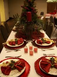 decorations cheerful xmas table decoration ideas with colorful