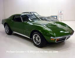 1972 stingray corvette value corvette for sale 1972 zr1 1038c
