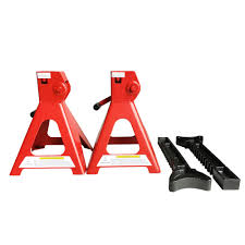 3 Ton Floor Jack Jack Stands And Creeper Set by 3 Ton High Lift Jack Stands 2 Pieces Car Auto Truck Garage Tools